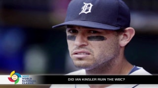 Ian Kinsler's comments almost ruined the World Baseball Classic
