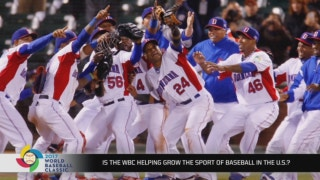 Is the WBC growing baseball in America?
