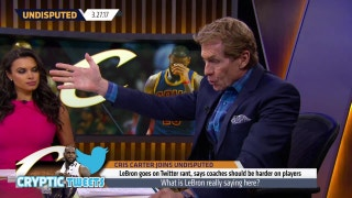 Skip Bayless reacts to LeBron James going on cryptic Twitter rant | UNDISPUTED