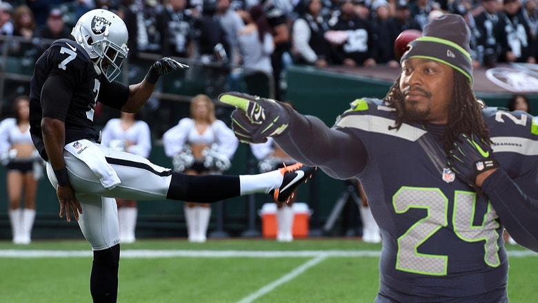 Raiders punter gets creative in his pitch to get Marshawn Lynch to join team