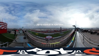 NASCAR visits Fontana  | Virtual Reality 360°