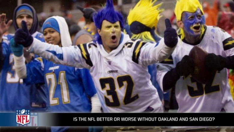 The NFL is worse without teams in San Diego and Oakland