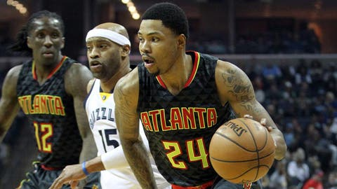 Kent Bazemore, G, Atlanta Hawks (Old Dominion)