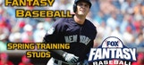 5 Spring Training Studs: Fantasy Baseball