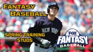 5 Spring Training Studs: Fantasy Baseball