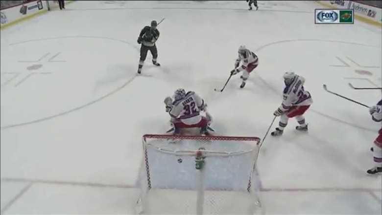 WATCH: Staal scores first, but Wild fall 3-2 to Rangers