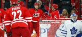 Hurricanes LIVE To Go:  Canes play well, but Leafs take extra point in OT