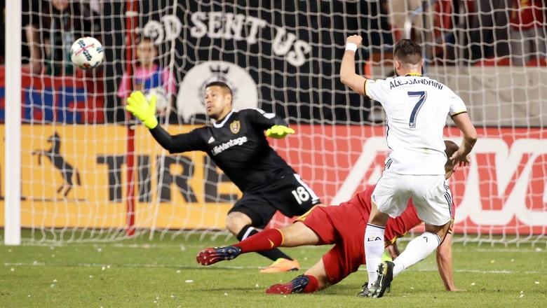 Real Salt Lake vs. Los Angeles Galaxy   2017 MLS Highlights