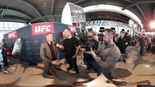 UFC 209 Media Day | Virtual Reality 360°