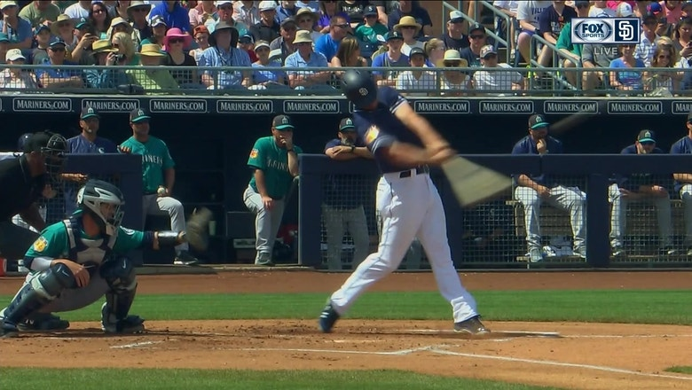 Padres Highlight: WIl Myers' 2-run bomb against Mariners