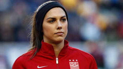 Alex Morgan (sub) - 6.5