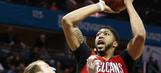 Davis scores 46 to lead Pelicans over Hornets in OT