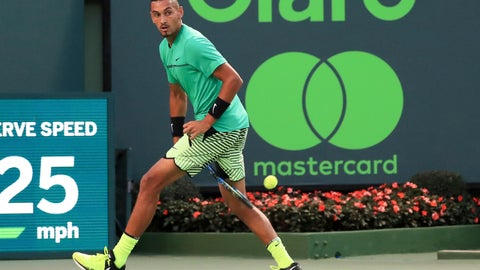 Federer, Kyrgios advance to Miami Open semi-finals