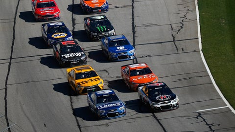 Brad Keselowski wins Atlanta after late-race drama