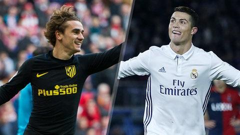 Atletico Madrid vs. Real Madrid