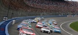 Top 10 drivers from Stage 2 at Auto Club Speedway