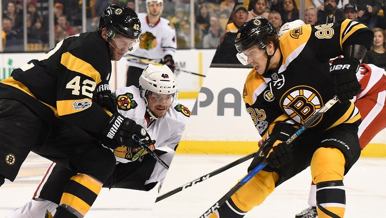 Illustrated Review: Breaking down the options on the Bruins' top line wing