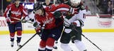 Capitals and Wild find lessons in matchup of skidding Cup contenders