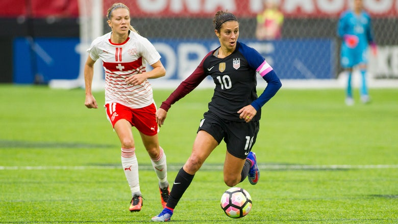 Carli Lloyd sets out on new frontier: Playing for a club abroad
