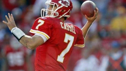 2009: Matt Cassel capitalizes on Brady's lost season in New England