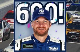 Dale Earnhardt Jr is Mister 600