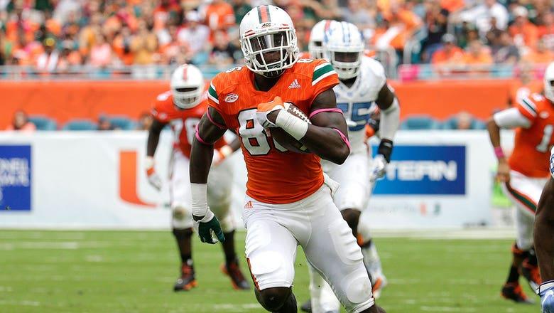 2017 NFL draft prospect countdown, No. 29: David Njoku, TE, Miami