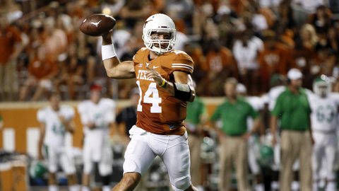 Former Texas QB David Ash Will Compete At UT Pro Day