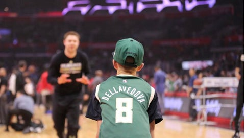 Matthew Dellavedova, Bucks guard