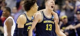 Michigan's Wagner, Wilson entering draft, don't have agents