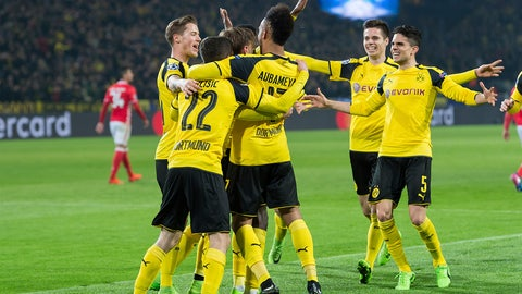 Dortmund will be a danger going forward