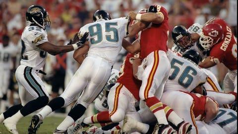 Jacksonville Jaguars: LB Bryce Paup (1998)