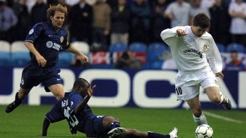 Leeds United - Best finish: Semifinals, 2000/01