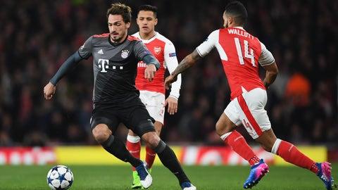 Bayern were dominant, but some cracks showed