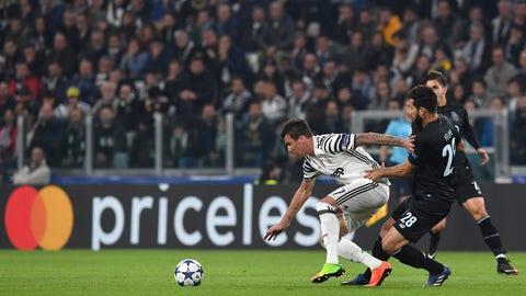 Juventus' work rate was phenomenal