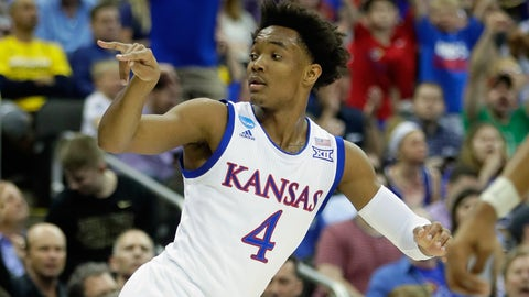 Kansas Advances to Elite 8