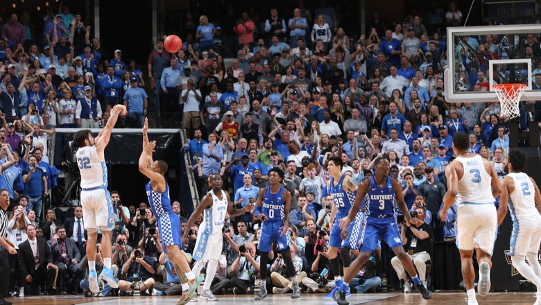 Watch (and rewatch) the brilliance of North Carolina's game-winner over Kentucky