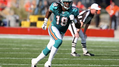 Miami Dolphins: WR Ernest Wilford (2008)