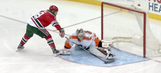 Taylor Hall's breakaway move was so nasty it left Flyers goalie injured
