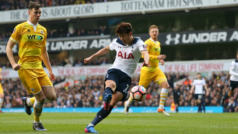 Tottenham's Son Heung-Min the target of racist abuse by Millwall fans