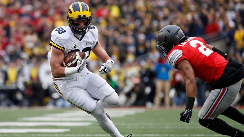 Former Michigan TE Jake Butt is in favor of paying college athletes