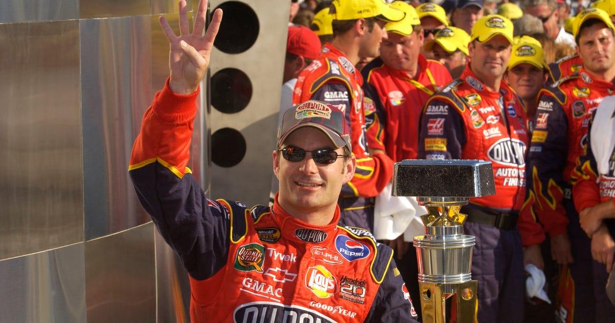 Best Jeff Gordon NASCAR tat ever? Maybe, yes | FOX Sports