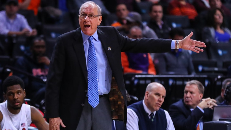 Watch: Jim Boeheim complains about Syracuse's tournament snub