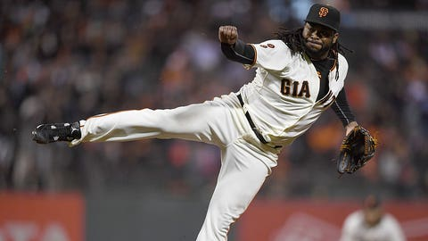 Johnny Cueto -- San Francisco Giants