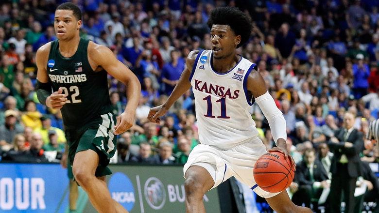 Kansas freshman Josh Jackson declare for NBA draft