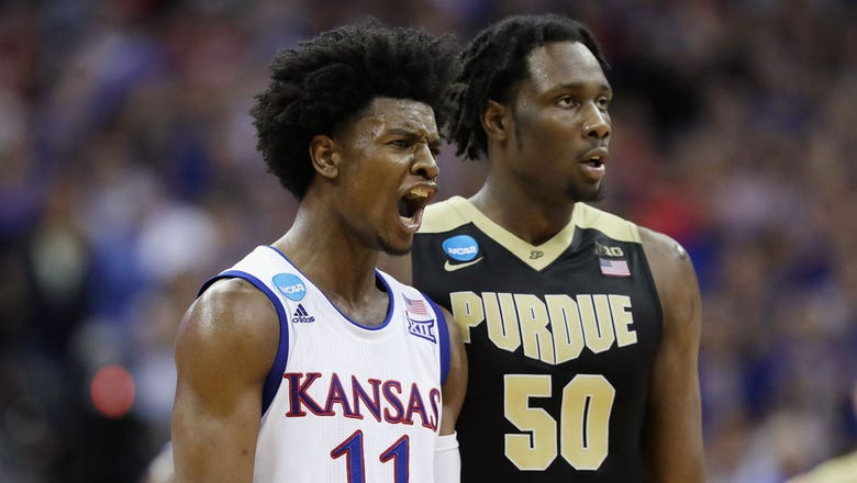 Kansas mowing down the competition heading into Elite Eight