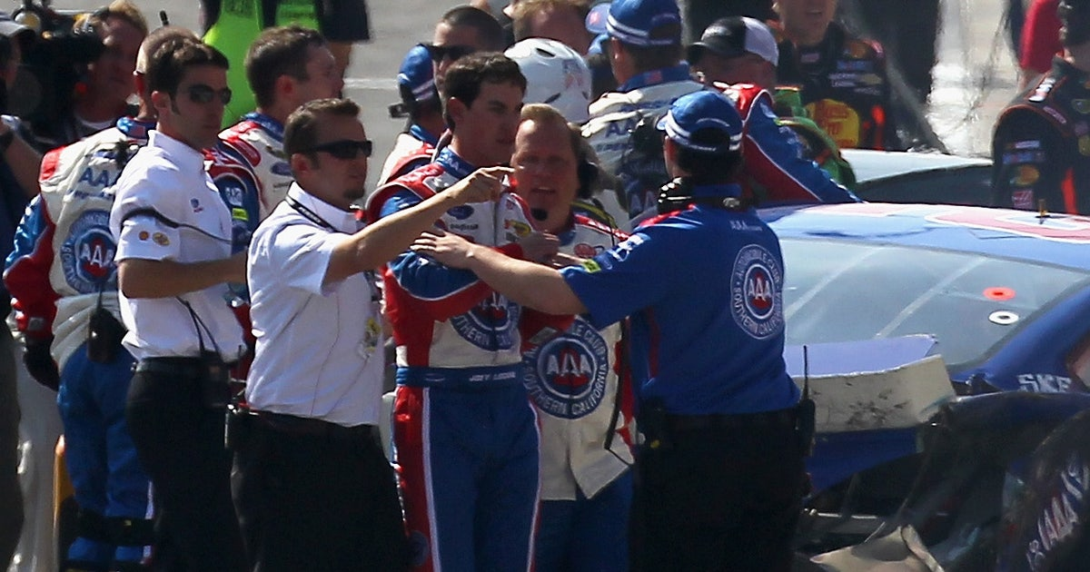 Sunday's fight was not the first rodeo for Joey Logano, Kyle Busch | FOX Sports