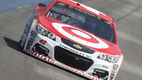 What is Kyle Larson's team doing to his car? — Tyler