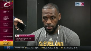 LeBron shares thoughts on how Cavs can improve with the rest of their season