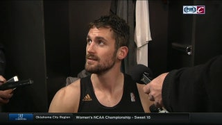 Kevin Love looks back on what happened to shoulder, liked Cavs' attention to detail