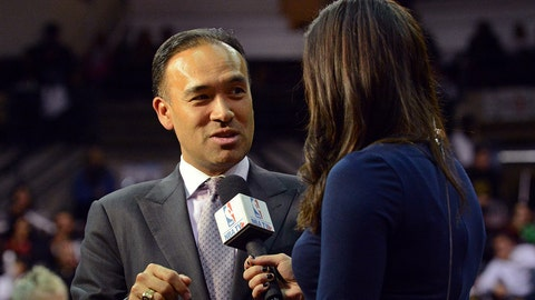 TORONTO, CANADA - NOVEMBER 19:  NBA Deputy Commissioner, Mark Tatum, attends the Maine Red Claws NBA D-League game against the Toronto Raptors 905 on November 19, 2015 at the Air Canada Centre in Toronto, Ontario, Canada.  NOTE TO USER: User expressly acknowledges and agrees that, by downloading and or using this Photograph, user is consenting to the terms and conditions of the Getty Images License Agreement.  Mandatory Copyright Notice: Copyright 2015 NBAE (Photo by Ron Turenne/NBAE via Getty Images)
